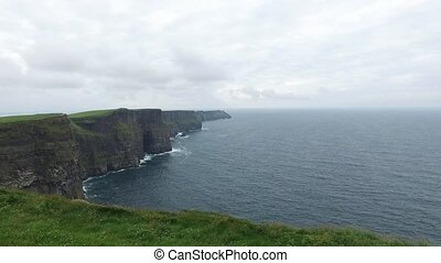 cliffs of moher and atlantic ocean in ireland 44 - nature...