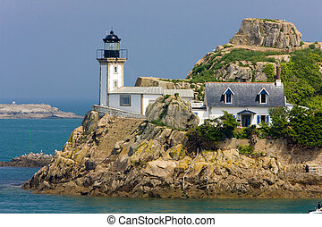 lighthouse, Pointe de Pen al Lann,