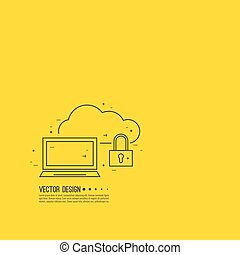 Secure cloud service The laptop and the lock Protection of...