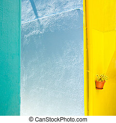 Abstract multicoloured wall background