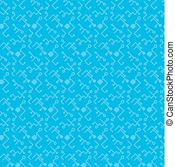 Computer Processor Chip Seamless Pattern for print, cloth,...