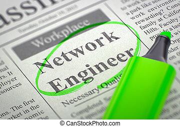 Network Engineer Hiring Now. 3D - Network Engineer -...