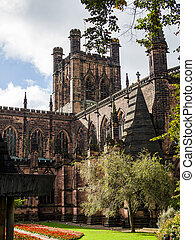 Cathedral Gardens in Chester