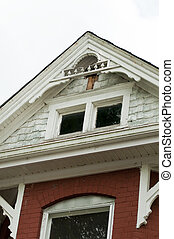 Home repair - roof line of historic home in need of major...