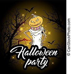 Design for Halloween party