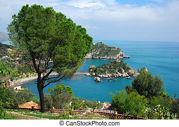 Bella Isola in Taormina, Sicily - Taormina is a small town...