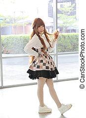 japanese lolita style girl