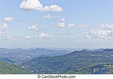 Quilombo valley at Gramado, Rio Grande do Sul, brazil -...