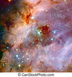 The Omega Nebula is an region in the constellation...