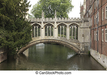 Bridge of sighs - The famous bridge of sighs of st Johns...