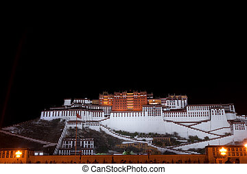 The Potala Palace - the great potala palace in tibet China...