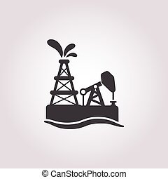 illustration of vector icon in simple style isolated on...
