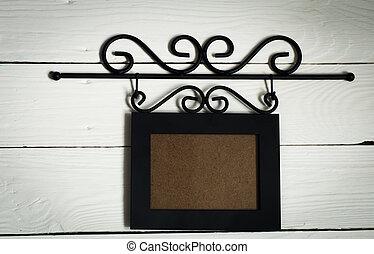 Beautiful black hanging photo frame