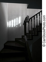 Spooky and surreal stairs