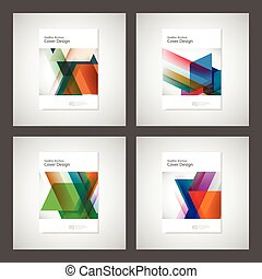 Cover design for Annual Report, Catalog or Magazine, Book or...