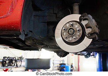 calliper disk brake - The image of a calliper disk brake...