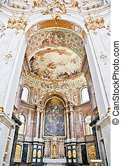 apse ettal - An image of a beautiful apse in Ettal