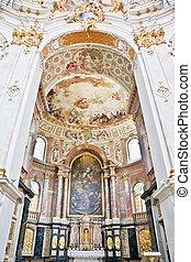 apse ettal - An image of a beautiful apse in Ettal