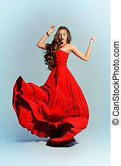 衣服, 紅色