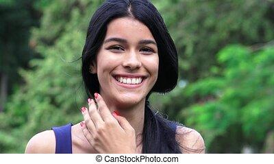 Pretty Teen Hispanic Female
