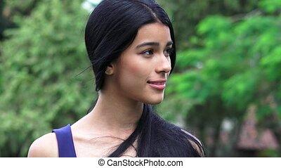 Beautiful Young Female Teen