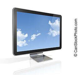 3D television screen - 3D television, computer screen...