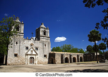 Mission Concepcion, San Antonio Missions National Historical...