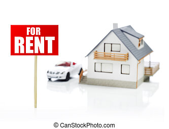 Renting concept