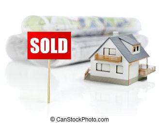 Sold house concept
