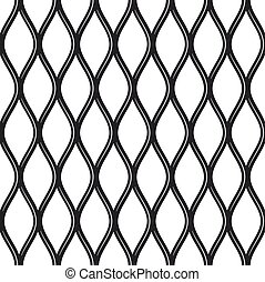 Texture black and white expanded metal sheet mesh. - Texture...
