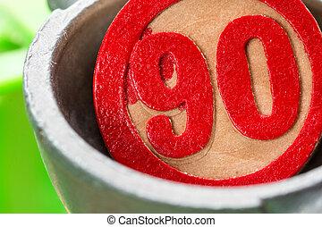 ninety, bingo number
