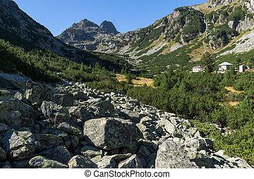 Malyovitsa peak, Rila Mountain - Malyovishka river Valley...