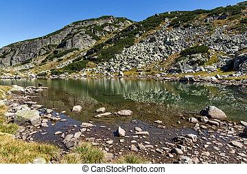 small Lake, Rila Mountain - Clean water in small Lake, Rila...