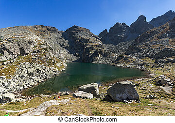 The Scary lake, Rila Mountain - Panoramic view of The Scary...