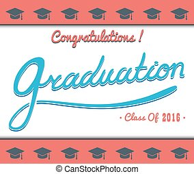 Graduation Vector template Party, Congrats, Celebrate, High...
