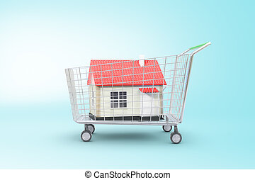 Concept of buying a house