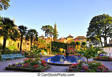 Portmeirion Village Wales 3 - Portmeirion is a popular...