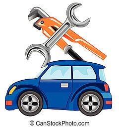 Repair of the cars