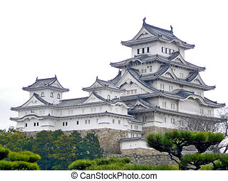 Himeji Castle - The beautiful Himeji Castle. This huge...