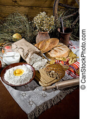 Bread In Human Life - Different kinds of bread