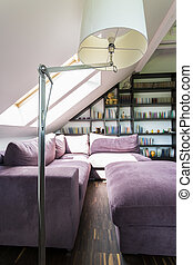 As functional as it is beautiful - Shot of a cozy room with...