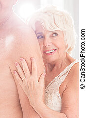 All she ever wanted - Shot of a happy mature woman holding...