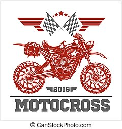 Motocross Tournament emblem