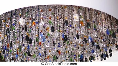 Colorful lighting decoration, Crystal Chandelier - Colorful...