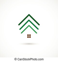 Tree house - Vector illustration of a Tree house