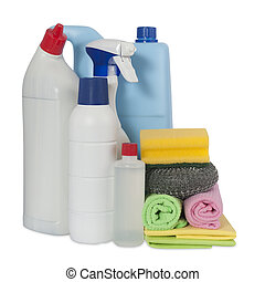 detergents to clean the house
