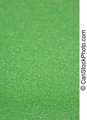 A field hockey pitch made from artificial turf.
