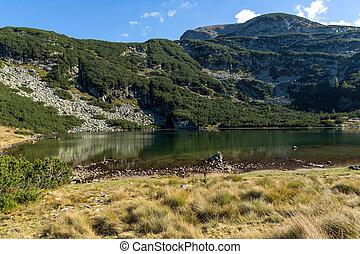 Yonchevo lake, Rila Mountain - Amazing view of Yonchevo lake...