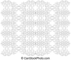 Ornamental Pattern - A vector ornamental seamless pattern