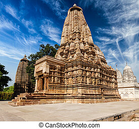 Vaman Temple in Khajuraho - Vaman Temple in famous indian...